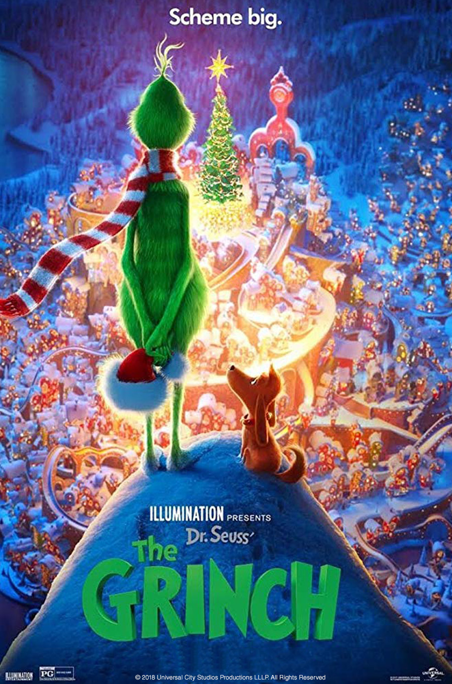 Image of Dr. Seuss' The Grinch Movie Poster