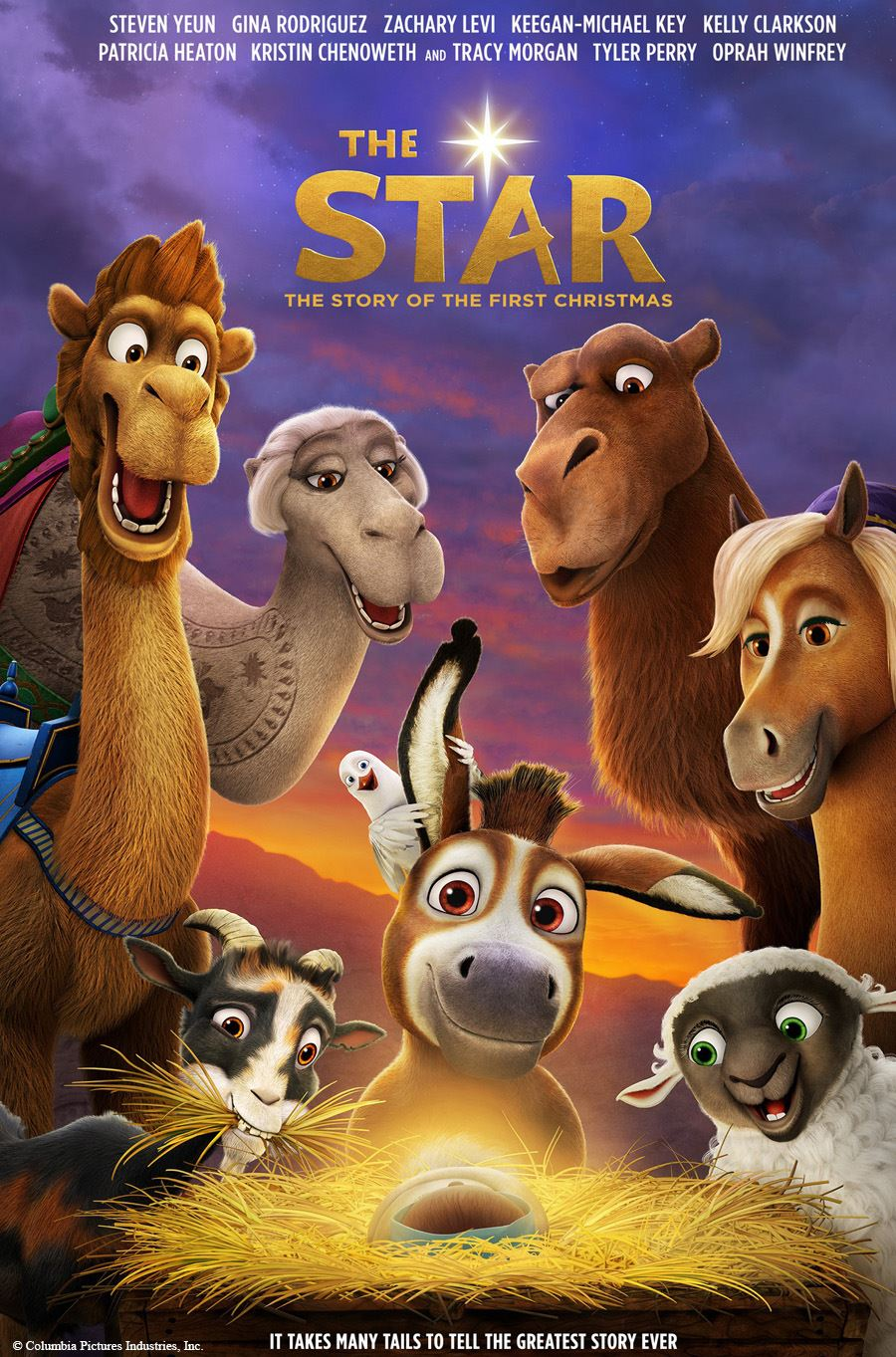 Image of &#34The Star&#34 movie poster.