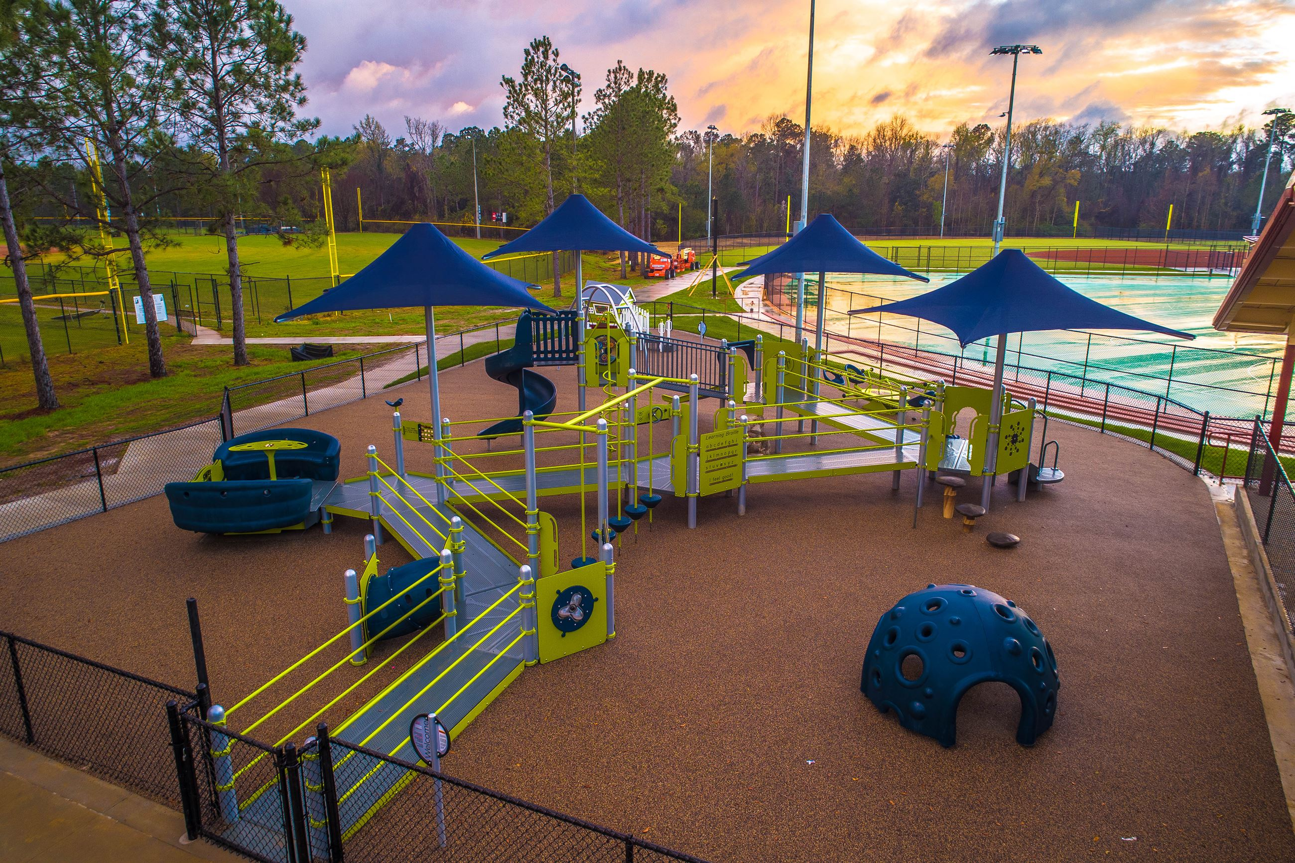 Image of a children's playground.