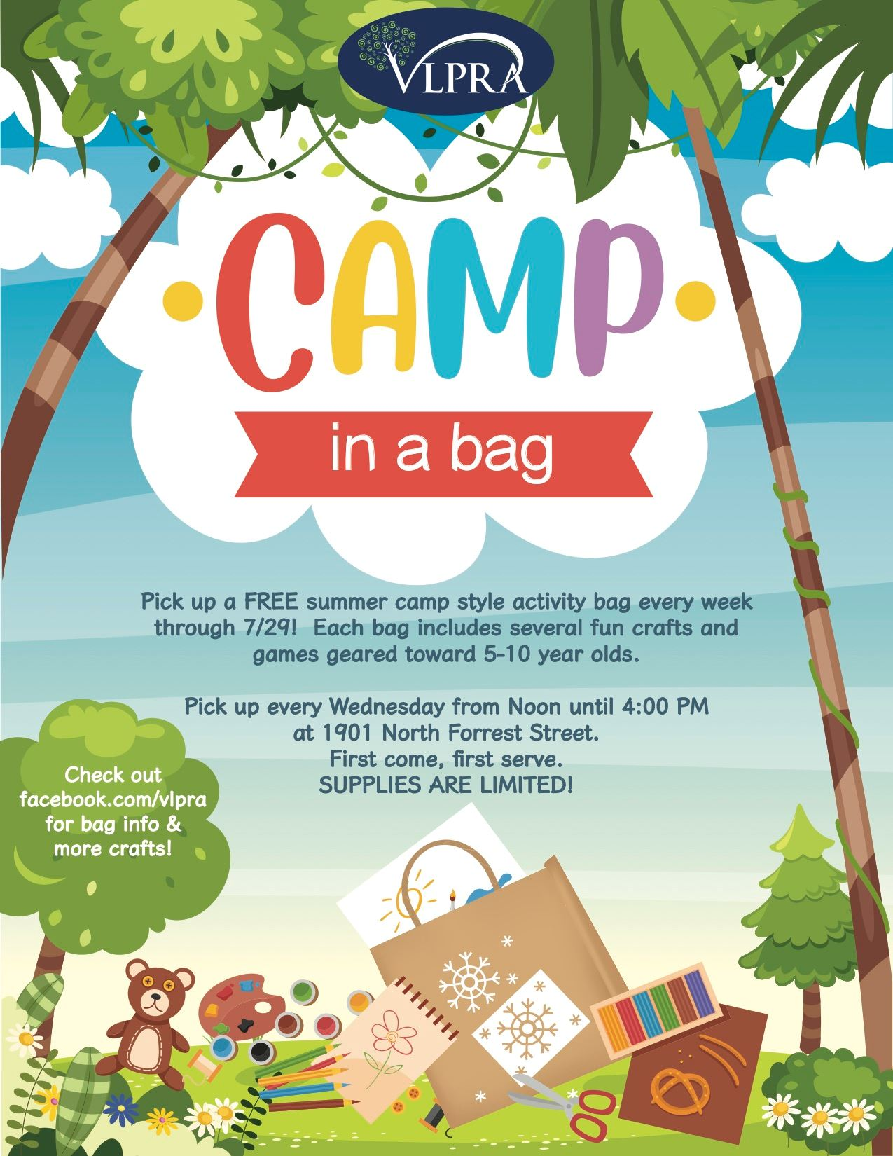 2020 Camp in a Bag Flyer