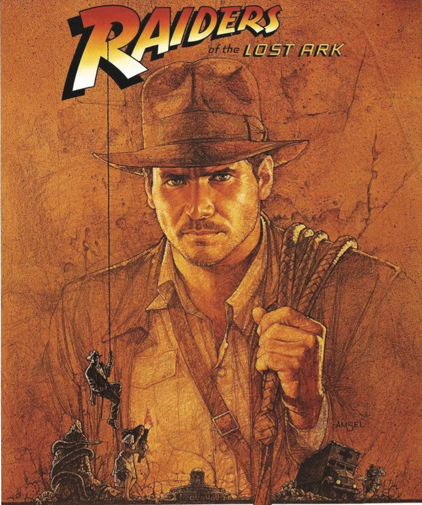 "Image of ""Raiders of the Lost Ark"" movie poster"
